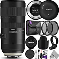 Tamron SP 70-200mm f/2.8 Di VC USD G2 Lens for NIKON F Cameras w/Tamron Tap-in Console and Essential Photo Bundle