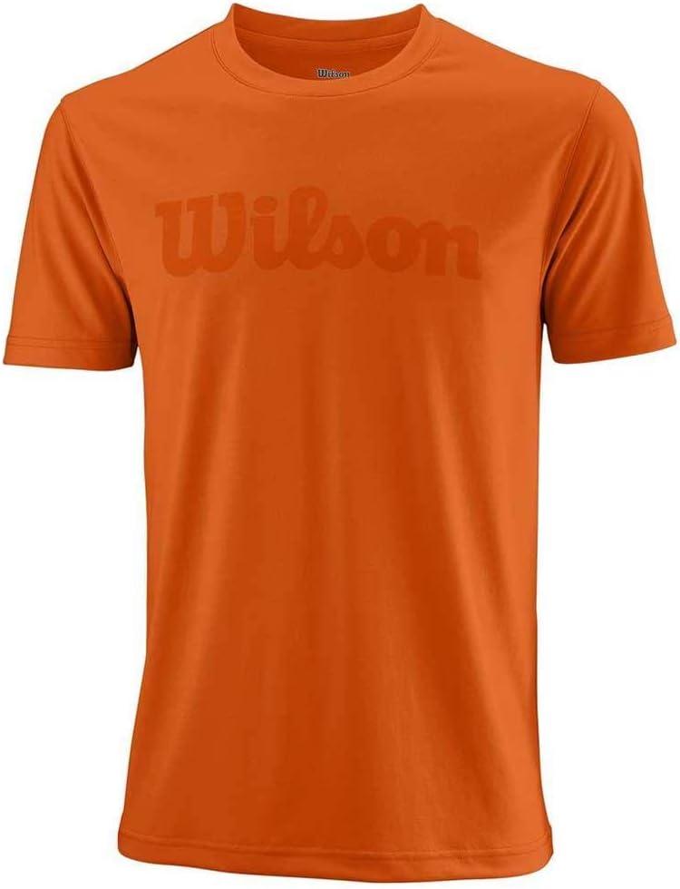 Wilson M UWII Script Tech tee Hombre Camiseta