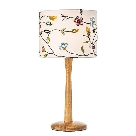 YS-FeiTeng Lámpara de mesa Dormitorio simple moderno IKEA ...