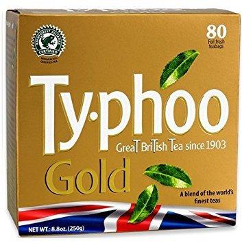 - Typhoo Tea (Gold 80ct Foil fresh, Pack 1) ...