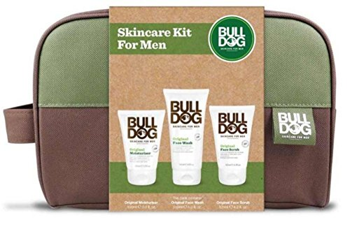 Bulldog Skincare Kit For Men 3 Pack Gift Set