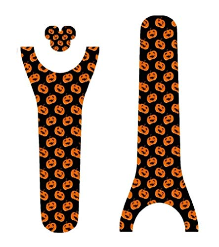 Vinyl Skin Decal Wrap Sticker Cover for the MagicBand 2 Magic Band 2 Halloween Pumpkins -