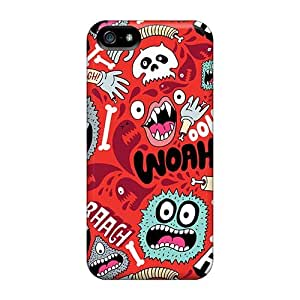 Diushoujuan Protector Case Cover With Monster Pattern Hot Diushoujuan Design For ipod touch4
