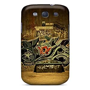 Hot HfNYQxE4684YvJjk Case Cover Protector For Galaxy S3- Street Language Paris