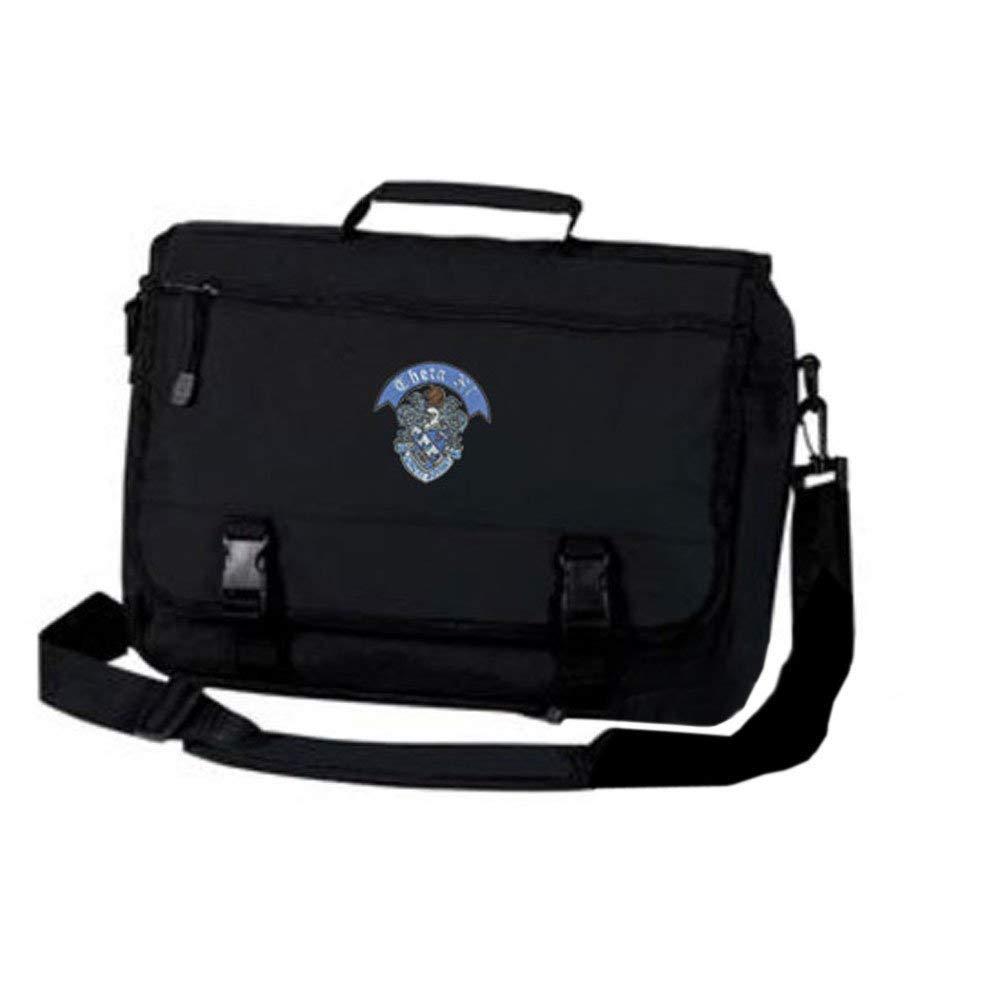 Greekgear Theta Xi Crest Greek Expandable Briefcase Black