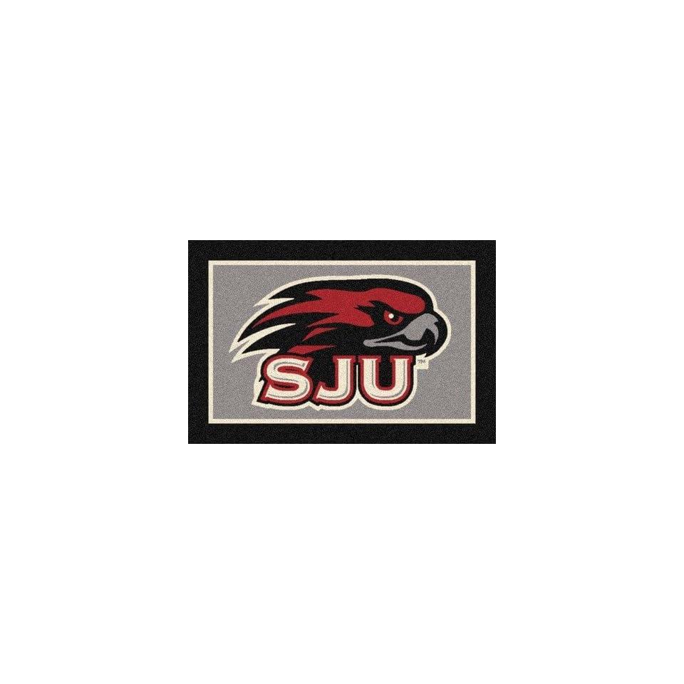 Saint Josephs Hawks 33 x 45 Team Door Mat Sports