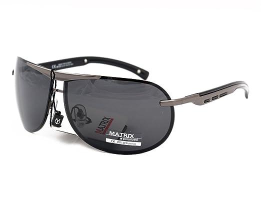 70bb585e15 Matrix Collection Pilot   Aviator Polarized Sunglasses for Driving ...