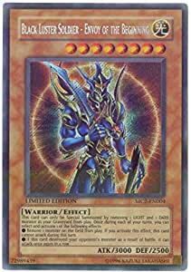 Amazon Com Yu Gi Oh Black Luster Soldier Envoy Of