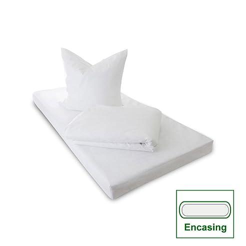 TAURO 26691 Kissen Bezug Gegen Milben | Evolon | Anti Allergie Schutz |  Kissenbezug