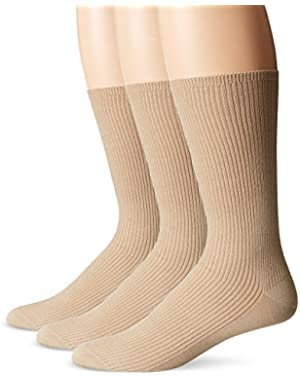 Calvin Klein Men's 3 Pack Non Binding Dress Socks