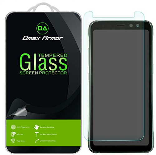 "[2-Pack] Dmax Armor- Samsung ""Galaxy S8 Active"" (Not Fit For Galaxy S8 / S8 Plus) [Tempered Glass] Screen Protector with Lifetime Replacement Warranty"