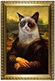Grumpy Cat Mona Lisa Poster 13 x 19in