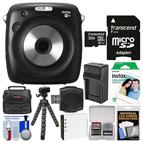 Fujifilm Instax Square SQ10 Hybrid Instant Film & Digital Ca