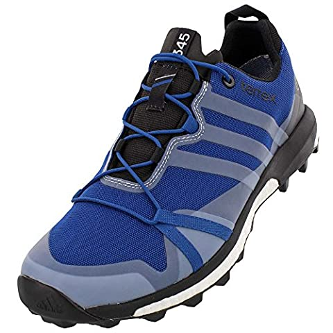 Adidas Terrex Agravic GTX Shoe - Men's Eqt Blue / Black / White 10.5