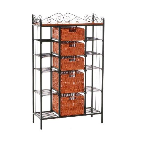 sei-manilla-5-drawer-bakers-rack