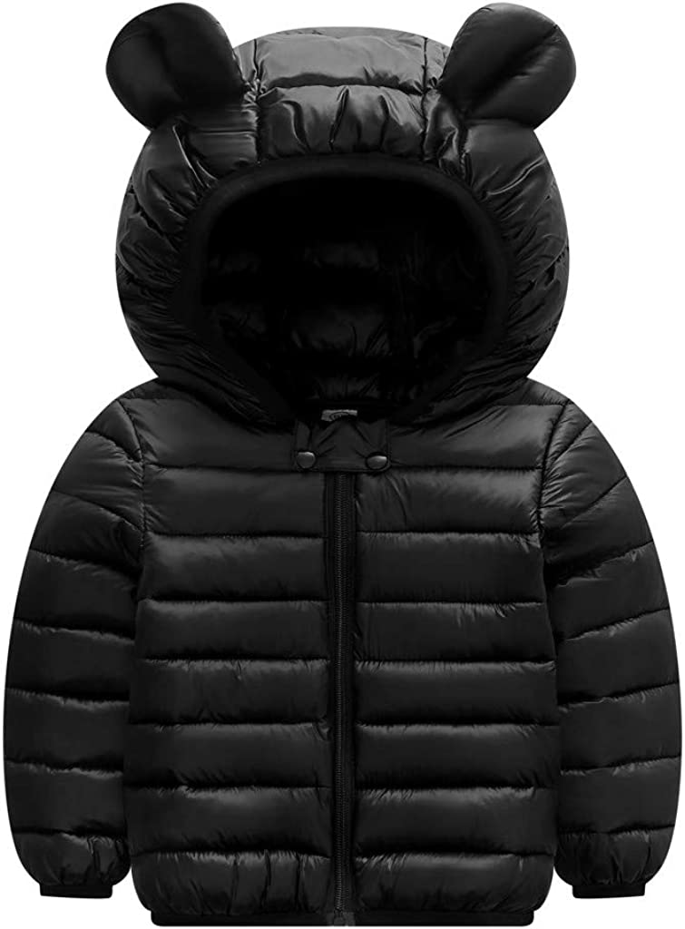 Kids Children Baby Girls Thicken/ Winter Warm Snowsuit Coat Jacket Fleece Hood Cotton Rabbit Cute Outwear