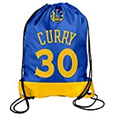 Show your team pride with this officially licensed Steph curry drawstring backpack. High quality backpack for work, school, the gym, or practice from Forever Collectibles - the leading manufacturer in sport licensed bags.