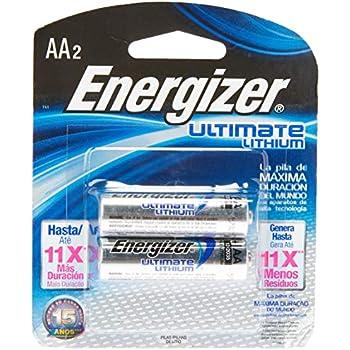 Amazon.com: Energizer AA Lithium Batteries, Double A
