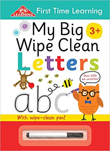 6cbecbcf48 Amazon.com  My Big Wipe Clean Letters  Over 200 Fun Activities (First Time  Learning) (9781786707246)  IglooBooks  Books