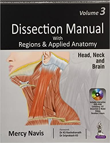 Dissection Manual With Regions Applied Anatomy Head Neck And