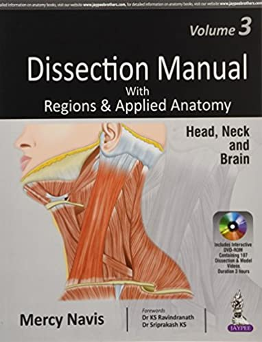 dissection manual with regions applied anatomy head neck and rh amazon com Muscles of the Head and Neck Muscles of the Head and Neck