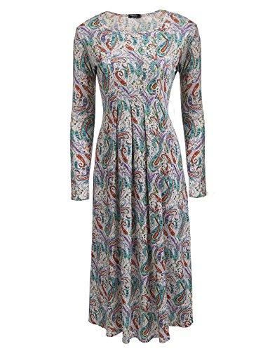 cheetah print dress long sleeve - 8