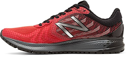 New Balance, Scarpe da corsa uomo Chinese Red/Metallic Silver
