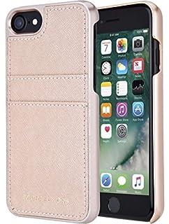 sale retailer b4807 3a03f Amazon.com: Michael Kors Saffiano Leather Pocket Case w ID Holder ...