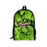 TOREEP Cool Dinosaur Tiger Animal Backpack Wild Adventure Jungle Bag