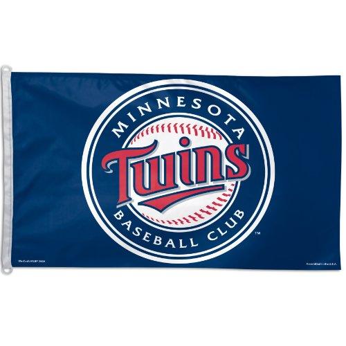 Minnesota Twins Banner (WinCraft MLB Minnesota Twins 3-by-5 foot Flag)