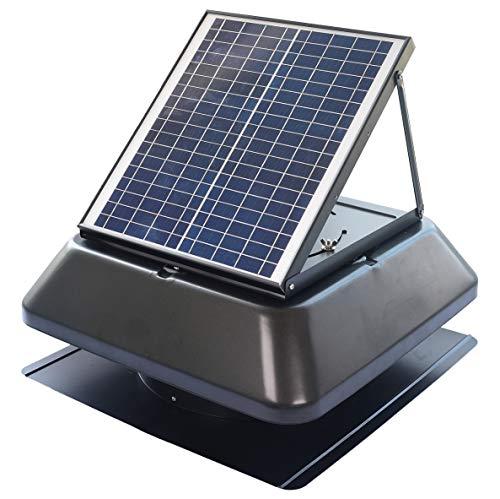 (Iliving Smart Exhaust Solar Roof Attic Exhuast Fan 14 Inch)