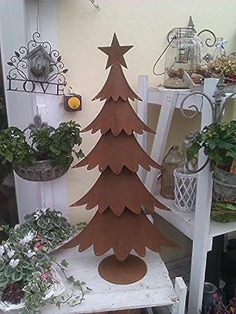 Weihnachtsbaum aus metall rost