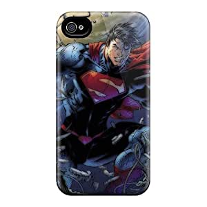 Excellent Hard Phone Covers For Iphone 6 With Unique Design Colorful Superman Pattern ErleneRobinson