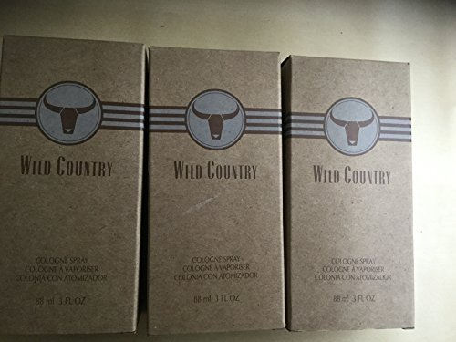 Avon wild country cologne spray lot of 3