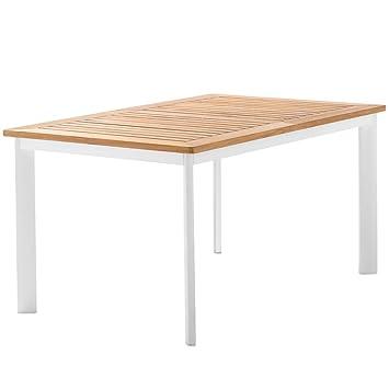 Sieger 687 W Gartentisch Mit Aluminium Gestell Und Platte Aus