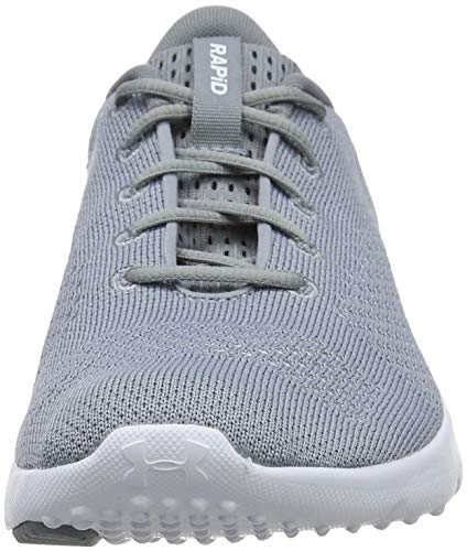 Gris W Mujer Entrenamiento Armour Rapid White 101 Zapatillas de Steel White UA Under para ZzqgSx