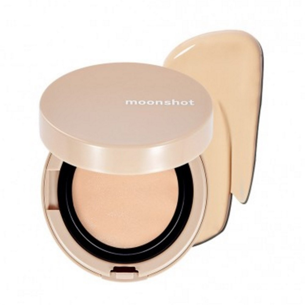 [MoonShot] Moonshot Face Chshion New Edition, Face Perfect Balm Cushion BlackPink Cushion (12gram) (101)
