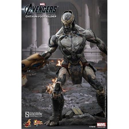 Marvel Universe Legends 3.75 Chitauri Foot Soldier Avengers Movie Figure