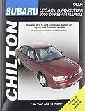 Chilton Total Car Care Subaru Legacy 2000-2009 & Forester 2000-2008 Repair Manual