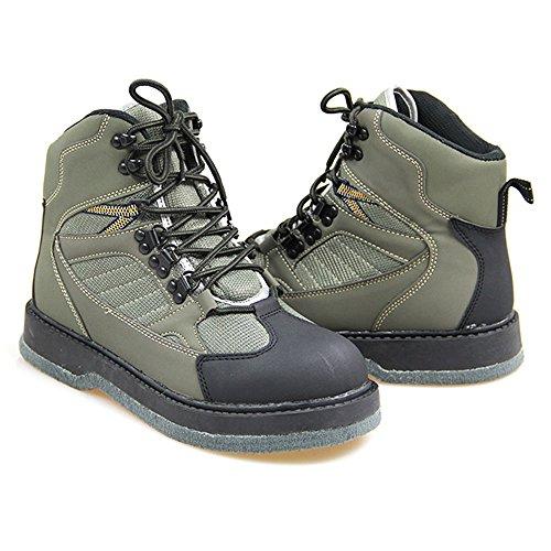 Lurewilder Men's Wading Boots Felt Sole Size 8 Size 11 (13)