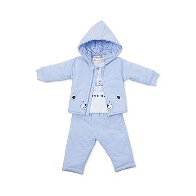 BABY-BOL - Chandal BEBÉ bebé-niños Color: Celeste Talla: 12M ...