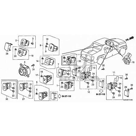 Amazon Com 2006 Honda Ridgeline Heated Seat Switch Bulb Automotive