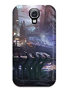 Galaxy S4 Case, Premium Protective Case With Awesome Look - Vehicle Sci Fi