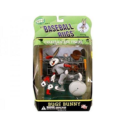 DC Direct Looney Tunes Create Scene Action Figure - Baseball Bugs Bunny