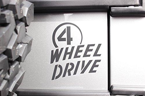 Jeep Wrangler Willys Wheeler 4 WHEEL DRIVE Sticker Decal Emblem Mopar OEM