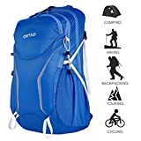 Cheap OUTAD Outdoor 30L Travel Backpack for Camping, Hiking, Climbing, Lightweight Waterproof Daypack for Outdoor Sports, Bleu