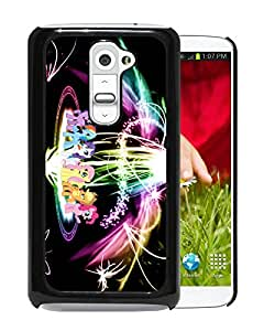 New Fashion Custom Designed Cover Case For LG G2 With My Little Pony 4 Black Phone Case