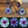 Weicam Waterproof 36 LED Colorful RGB 32 Pattern Bicycle Bike Wheel Spoke Light
