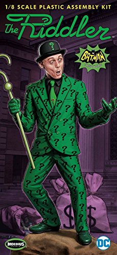 Batman 1966 TV Riddler 1:8 Scale Model Kit (8 Scale Model Kit)