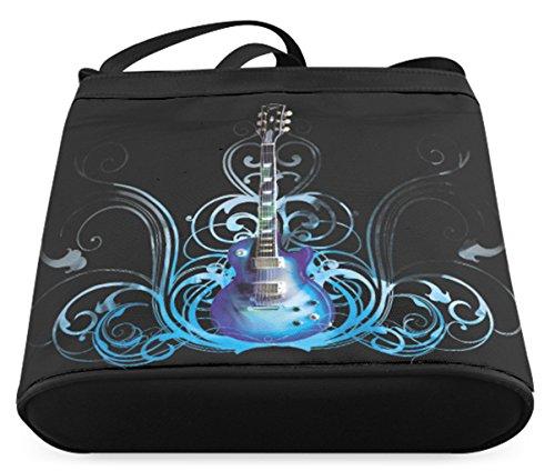 Fashion Instruments Background Musical Sling Bag with Bag Casb010smusic09 Crossbody Female Shoulder qPOR8gq